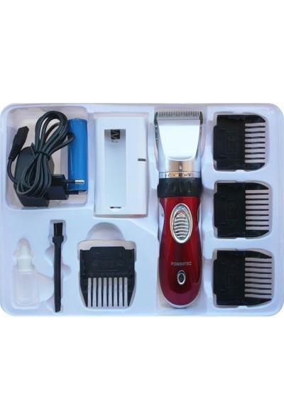 Powertec Tr-1200 Saç Sakal Profesyonel Tıraş Makinesi