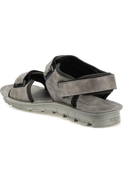 Polaris 160240.M Gri Erkek Sandalet