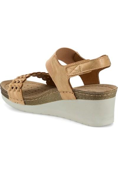 Polaris 161132.Z Taba Kadın Sandalet