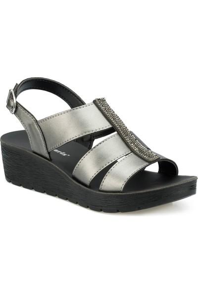 Polaris 315565.Z Antrasit Kadın Sandalet