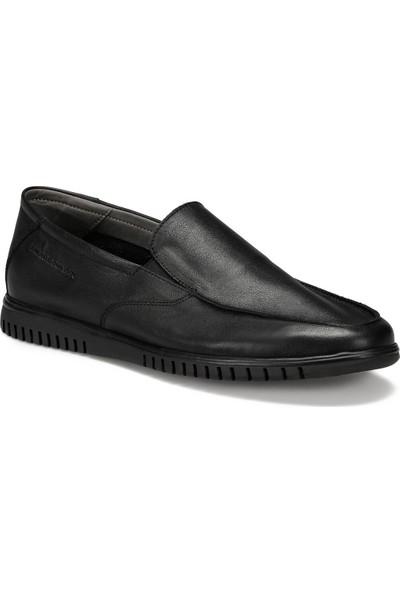 Lumberjack Alıt Siyah Erkek Loafer Ayakkabı
