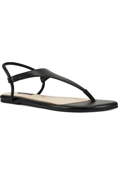 Nine West Braydın Siyah Kadın Sandalet