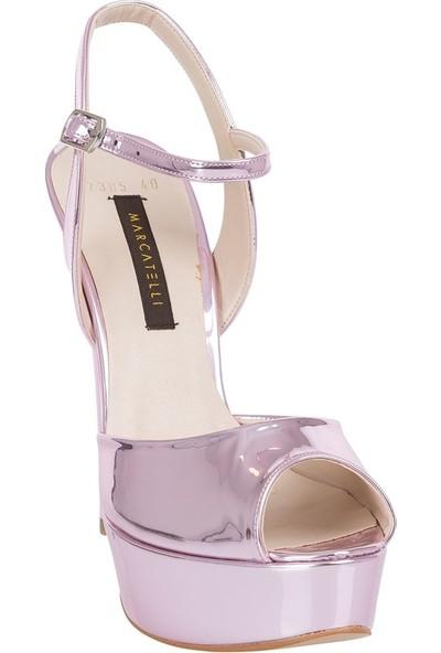Marcamiss 7385 Kadın Klasik Ayakkabı Gül Kurusu