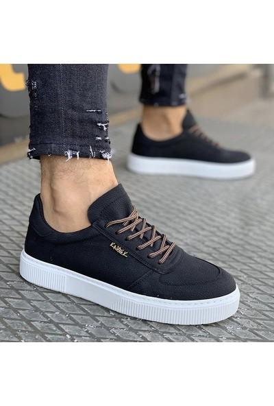 Knack Siyah Günlük Sneaker