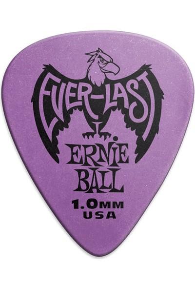 Ernie Ball Everlast Guitar Picks 1 Adet - 1.0mm - Purple Pena