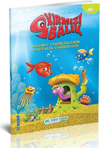 Kırmızı Balık Ailemle Etkinliklerim Kitabı (5-6 Yaş)