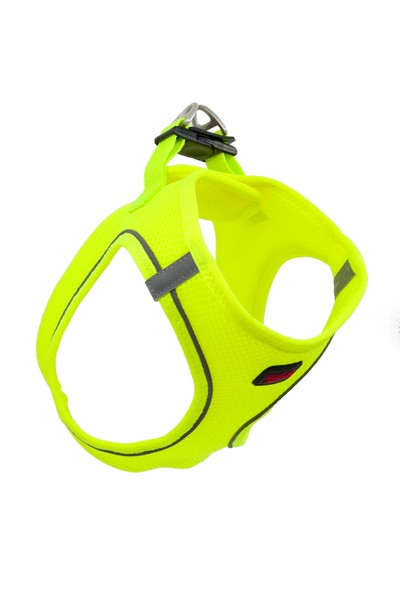TailPetz Airmesh Göğüs Tasması Neon Lime S