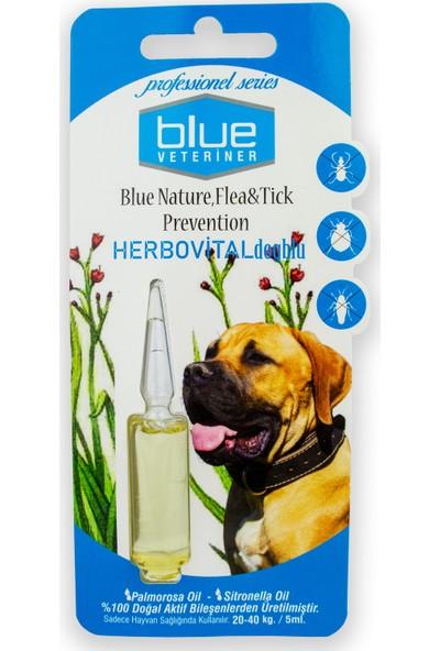 Blue Veteriner 20-40KG Köpekler Için Bitkisel Ense Damlası 5ml