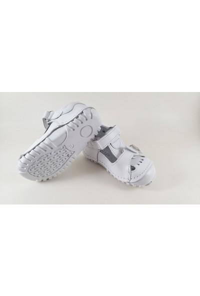 Teo Bebe Ilkadım Deri Kız Bebek Ayakkabısı