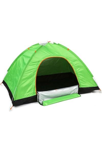 Zabata Portatif 3 Kişilik Su Geçirmez Çadır Monodome Kamp Çadırı Pratik Çantalı