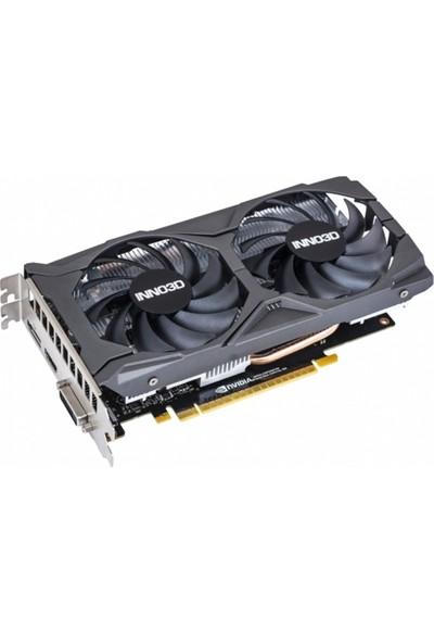 Inno3D GTX1650 Super Twin x2 OC 4GB 128Bit GDDR6 DX(12) PCI-E 3.0 Ekran Kartı (GTX1650SUPERTwinx2OC)