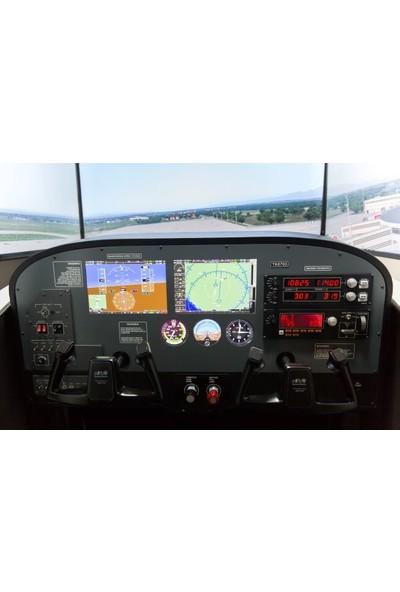 Go2Fly Cessna 172 Tam Kokpit Uçuş Simülatörü