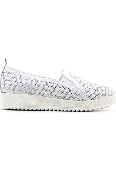 Evida 2675 Deri Kadın Ayakkabı