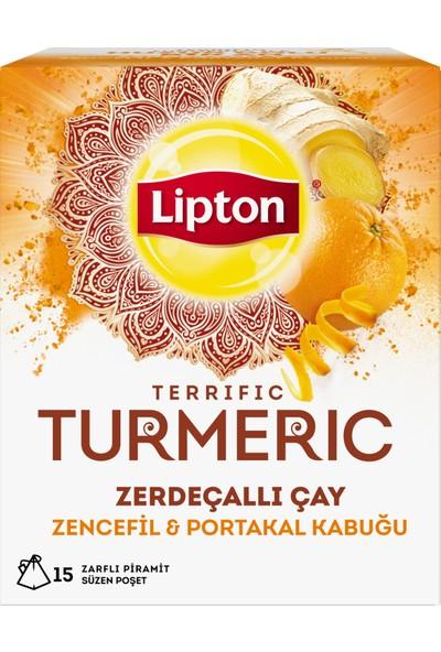Lipton Turmeric Çayı 30 gr Bardak Poşet Bitki ve Meyve Çayı