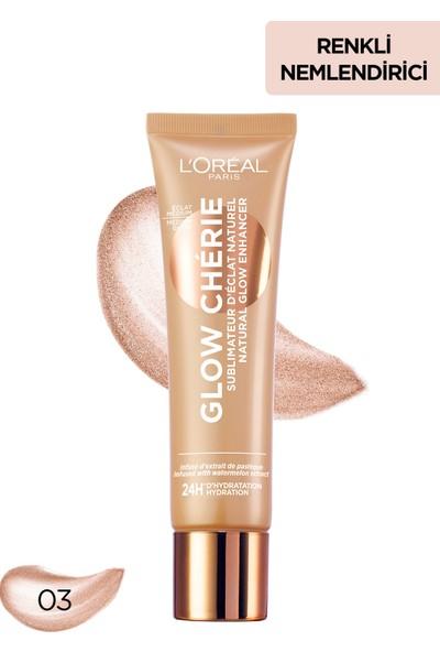 L'Oréal Paris Glow Cherie Işıltılı Renkli Nemlendirici Medium 30 ml