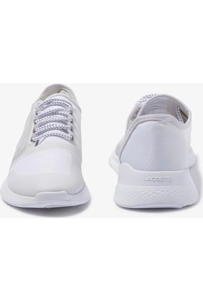 Lacoste Lt Fit 120 1 Sma Erkek Beyaz - Açık Gri Ayakkabı 739SMA0025.14X