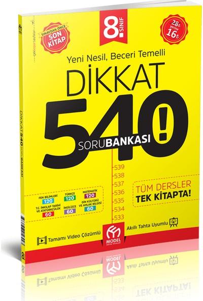 Model Yayınevi LGS 540 Soru Bankası