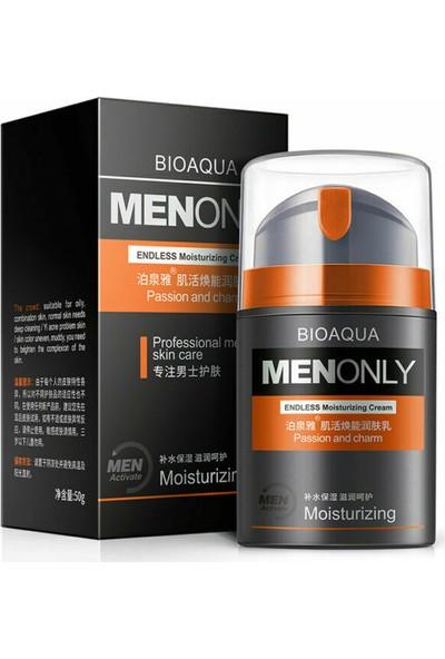 Bioaqua Men Only Nemlendirici Anti-Age Yüz Kremi Losyon 50 gr