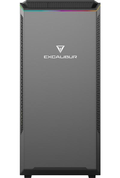 Casper Excalibur E60L.910F-87A0R-V-F Intel Core i3 9100F 8GB 1TB + 1TB SSD RX550 Windows 10 Pro Masaüstü Bilgisayar