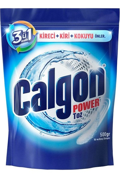 Calgon Toz 500 gr 2'li
