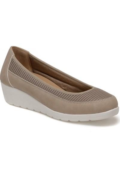 Travel Soft TRV1663.Z Kum Rengi Kadın Ayakkabı
