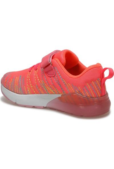 I Cool Sole Neon Pembe Kız Çocuk Yürüyüş Ayakkabısı