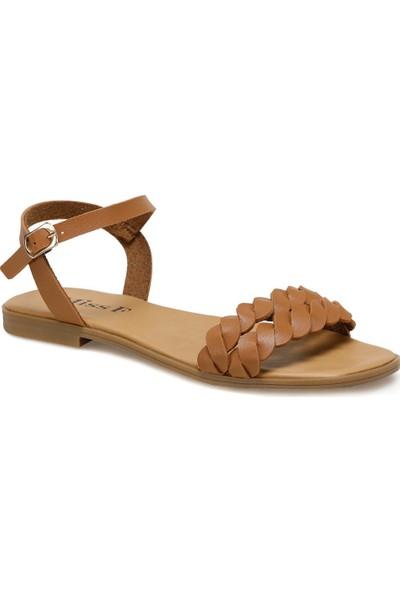 Miss F DS20027 Taba Kadın Sandalet