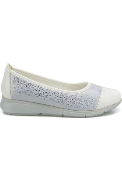 Travel Soft TRV1674.Z Beyaz Kadın Ayakkabı