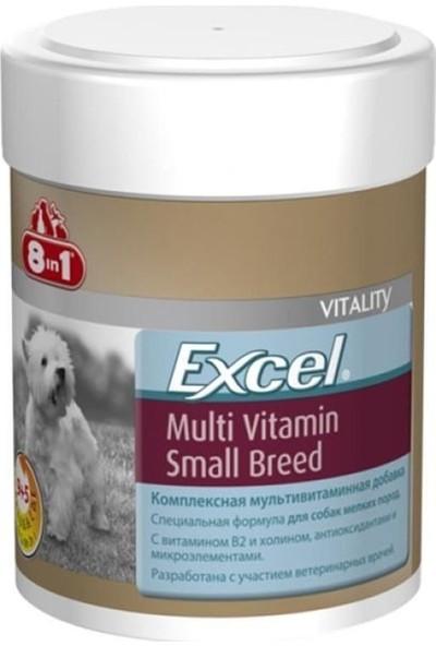 8in1 Excel Küçük Irk Köpek Için Multivitamin 70 Tablet