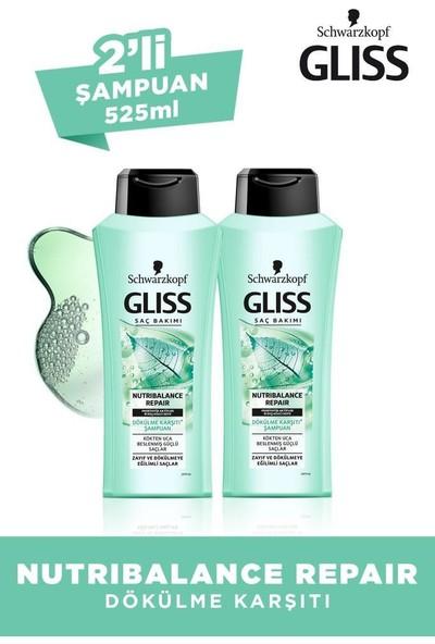 Schwarzkopf Glıss Nutrıbalance Şampuan 525 ml 2 Adet