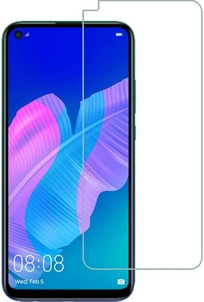 Huawei P40 Lite E Ekran Koruyucu Nano Temperli Cam