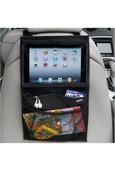 Ankaflex Araba Araç Içi Oto Koltuk Arkası Tablet Tutucu Pratik Cepli Eşya Düzenleyici Çantası Organizer