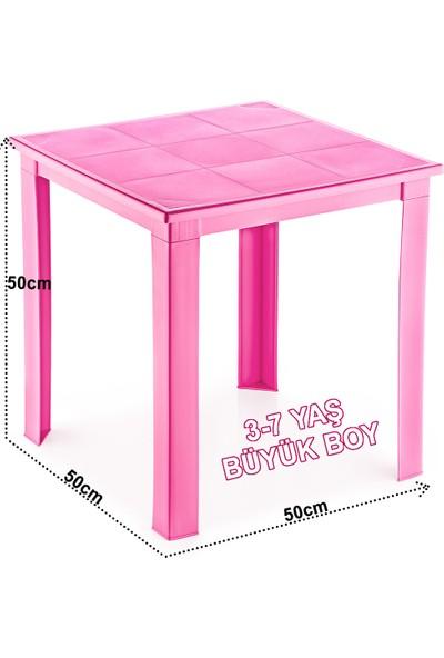 Fiore Çocuk Masası Plastik H50 3 - 7 Yaş