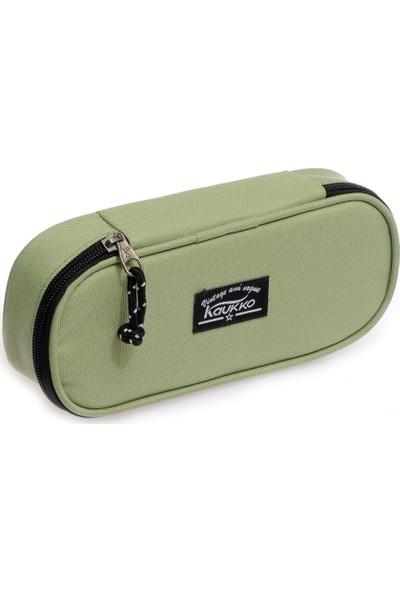 Kaukko Özel Bölmeli Kalem Çantası Su Yeşili K2080