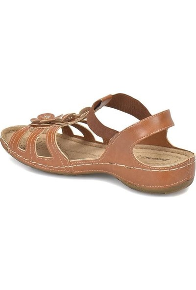 Polaris 157362 Taba Kadın Sandalet