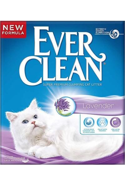 Ever Clean Lavander Kokulu Topaklaşan Kedi Kumu 6lt x 2 Adet