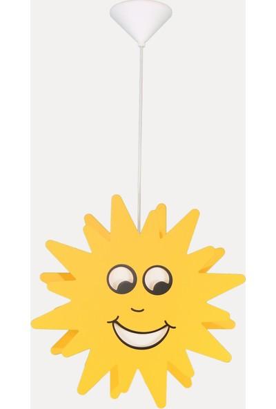 Şenay Eglo Junior Çocuk Odası Avize Sarkıt Güneş