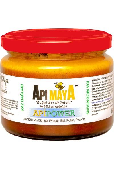Apimaya Apipower 325 gr Ham Bal Propolis Taze Polen Arı Sütü ve Arı Ekmeği
