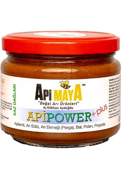 Apimaya Apipower Plus 325 gr Ham Bal Apilarnil Propolis Taze Polen Arı Sütü ve Arı Ekmeği