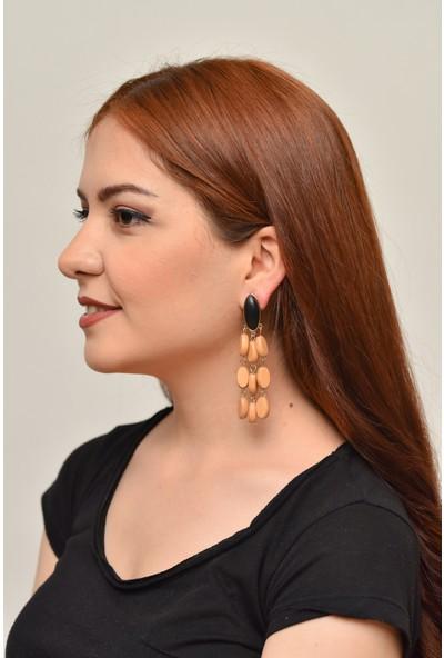 La'dess Accessories & Collections Sarı Boncuk Xc Küpe