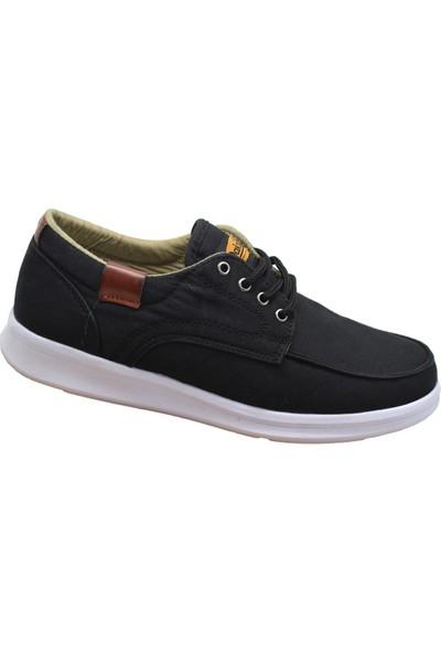 Dakırs 011 Ortopedi Taban Siyah Günlük Erkek Spor Ayakkabı