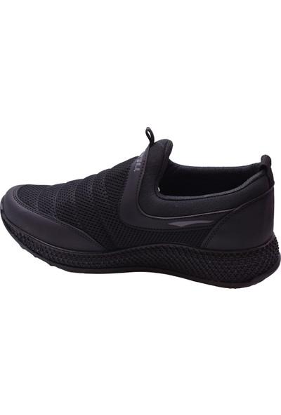 Wanderfull 4042 Ortopedi Siyah Günlük Unisex Spor Ayakkabı