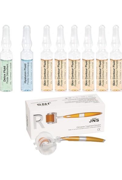 Janssen Cosmetıcs Ampul / Serum Toparlayıcı & Dermaroller Cilt Bakım Paketi 9 Ürün