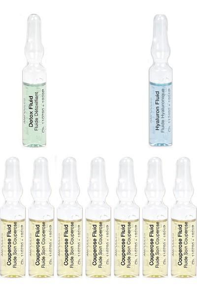 Janssen Cosmetıcs Ampul / Serum Kızarık ve Hassas Cilt Bakım Paketi 9 Ürün