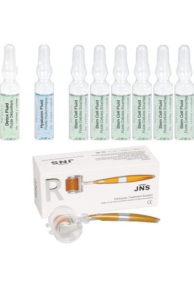 Janssen Cosmetıcs Ampul / Serum Kök Hücre Antı-Age & Dermaroller Cilt Bakım Paketi 9 Ürün