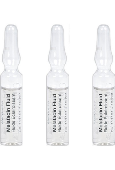 Janssen Cosmetıcs Melafadin Leke Ampul 3'lü Paket