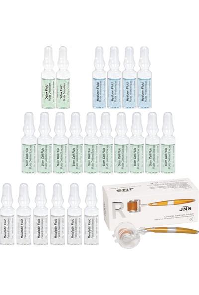 Janssen Cosmetıcs Ampul Yara Izi&dermaroller Bakım Paketi 23 Ürün