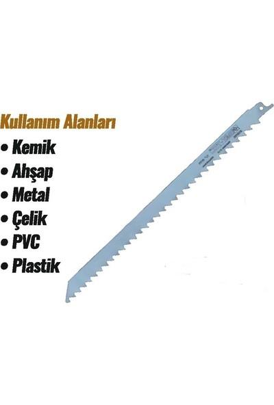 Makroyapı Baytec Tilki Kuyruğu Ağzı Paslanmaz Kemik Testere Ucu 300 mm