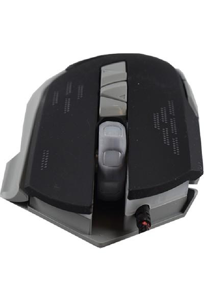 Powerstar 3200 Dpı Rgb Işıklı Renkli Oyuncu Gaming Mouse Gm-04
