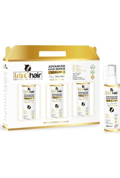 Trixohair Saç Dökülmesine Karşı Saç Bakım Şampuanı ve Saç Serumu Kadınlar İçin 3 Aylık Set